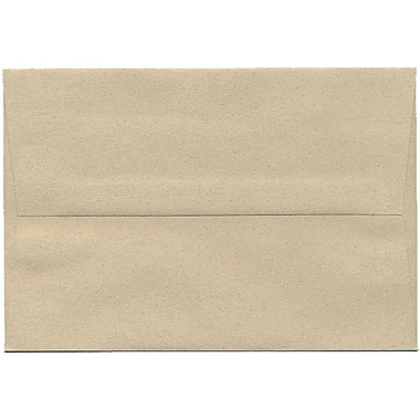 JAM Paper® A8 Invitation Envelopes, 5.5 x 8.125, Sandstone Ivory Recycled, 250/Pack (83728H)