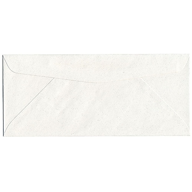 JAM Paper® #10 Business Envelopes, 4 1/8 x 9.5, Talc White Recycled, 500/Pack (900678810H)