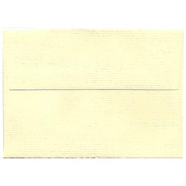 JAM Paper – Enveloppes Strathmore A1, papier vergé ivoire, 250/paquet