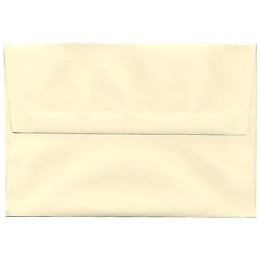 JAM Paper – Enveloppes Strathmore A8, vélin ivoire, 250/paquet