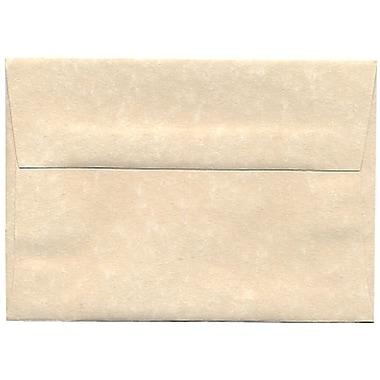 JAM Paper – Enveloppes A1 en papier recyclé, papier parchemin naturel, 250/paquet