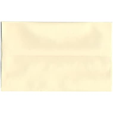 JAM Paper® A10 Invitation Envelopes, 6 x 9.5, Strathmore Ivory Wove, 250/Pack (900849930H)