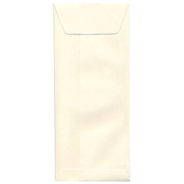 JAM Paper® #12 Policy Envelopes, 4.75 x 11, Strathmore Natural White Wove, 500/Pack (900894427H)