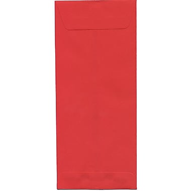 JAM Paper® #14 Policy Envelopes, 5 x 11.5, Brite Hue Red Recycled, 500/Pack (900905211H)