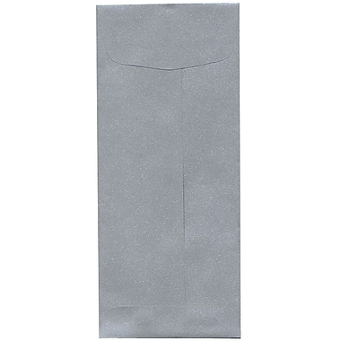 JAM Paper® #10 Policy Envelopes, 4 1/8 x 9.5, Stardream Metallic Silver, 500/Pack (900905922H)