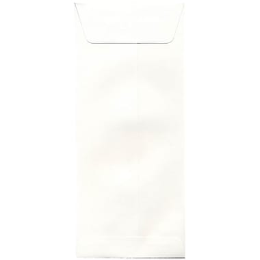 JAM Paper® #14 Policy Envelopes, 5 x 11.5, Strathmore Bright White Wove, 500/Pack (900905924H)