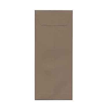 JAM Paper – Enveloppes recyclées nº 12 (4,75 x 11 po), Kraft Simpson, 500/bte