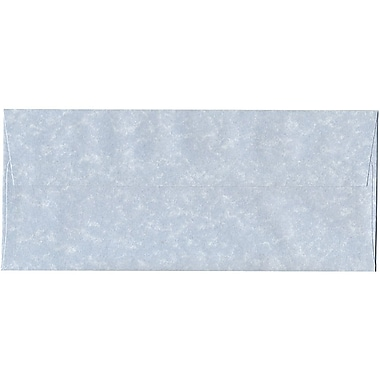 JAM Paper® #10 Business Envelopes, 4 1/8 x 9.5, Blue Parchment Recycled, 500/Pack (900908732H)