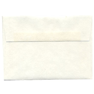 JAM Paper® 4bar A1 Envelopes, 3.63 x 5 1/8, Parchment White Recycled, 250/Pack (900926656H)