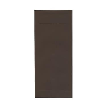 JAM Paper® #14 Policy Envelopes, 5 x 11.5, Chocolate Brown Recycled, 500/Pack (90094030H)