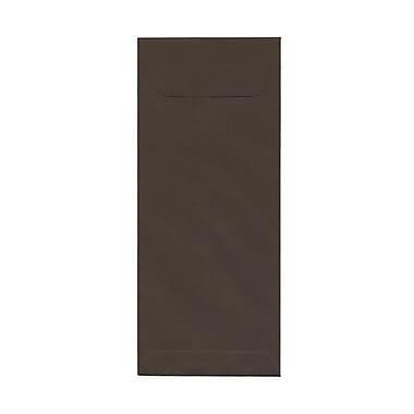 JAM Paper – Enveloppes recyclées nº 12 (4,75 x 11 po), brun chocolat, 500/paquet