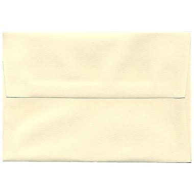 JAM Paper – Enveloppes Strathmore A8, papier vergé ivoire, 250/paquet