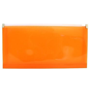 Jam PaperMD – Pochette de plastique format lettre et livret à fermeture à glissière, n° 10 (5 x 10 po), 12/paq