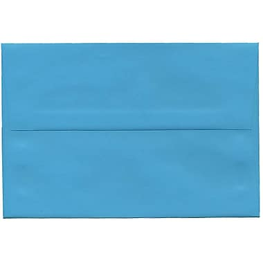 JAM Paper® A8 Invitation Envelopes, 5.5 x 8.125, Brite Hue Blue Recycled, 250/Pack (95435H)