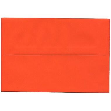 JAM Paper – Enveloppes A8 en papier recyclé orange, 250/paquet