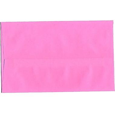 JAM Paper® A10 Invitation Envelopes, 6 x 9.5, Brite Hue Ultra Pink, 250/Pack (96292H)