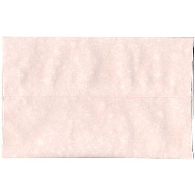 JAM Paper – Enveloppes A10 en papier recyclé sulfurisé glace rose, 250/paquet