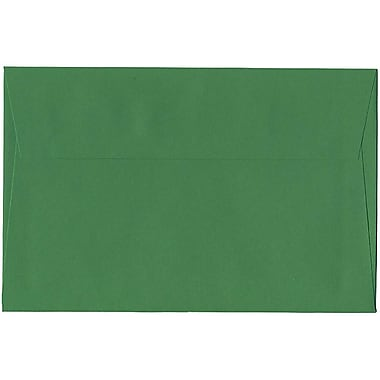 JAM Paper® A9 Invitation Envelopes, 5.75 x 8.75, Brite Hue Green Recycled, 250/Pack (98176H)