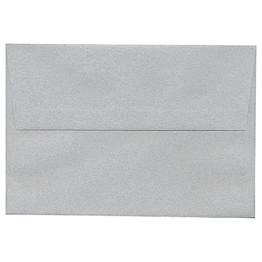 JAM Paper® A8 Invitation Envelopes, 5.5 x 8.125, Granite Grey Recycled, 250/Pack (CPPT755H)