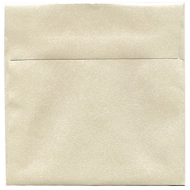 JAM Paper® 6 x 6 Square Envelopes, Stardream Metallic Opal, 50/Pack (GCST500I)