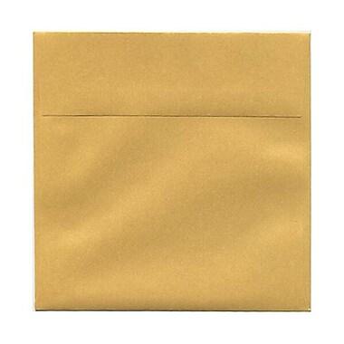 JAM Paper® 6 x 6 Square Envelopes, Stardream Metallic Gold, 250/Pack (GCST510H)