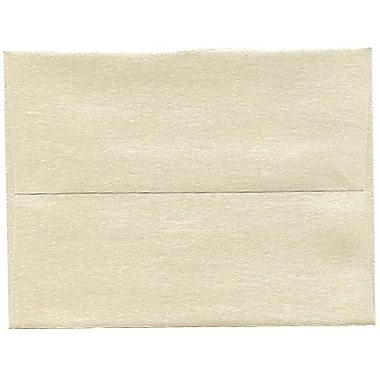 JAM Paper® A2 Invitation Envelopes, 4.38 x 5.75, Stardream Metallic Opal, 250/Pack (GCST600H)