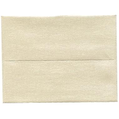 JAM Paper® A2 Invitation Envelopes, 4.38 x 5.75, Stardream Metallic Opal, 50/Pack (GCST600I)