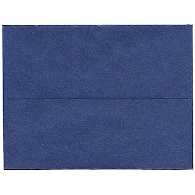 JAM PaperMD – Enveloppes à effet métallisé Stardream format A2, saphir, paq./50