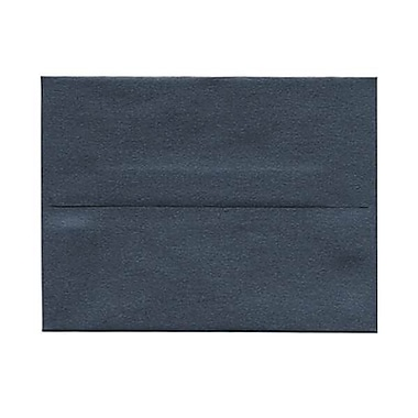 JAM Paper® A2 Invitation Envelopes, 4.38 x 5.75, Stardream Metallic Anthracite Black, 250/Pack (GCST606H)
