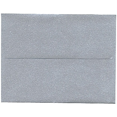 JAM Paper® A2 Invitation Envelopes, 4.38 x 5.75, Stardream Metallic Silver, 50/Pack (GCST609I)