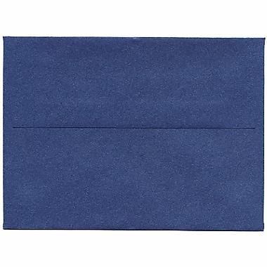 JAM PaperMD – Enveloppe Stardream A6 à effet métallisé, saphir, 50/pqt