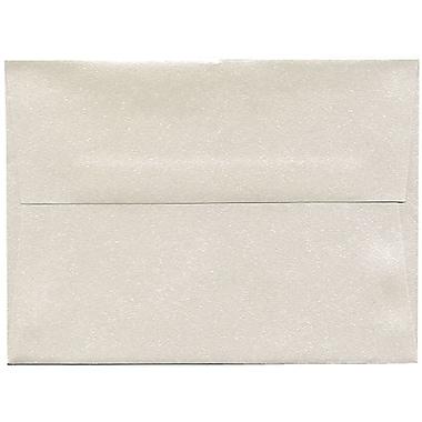JAM PaperMD – Enveloppe Stardream A6 à effet métallique, quartz, 50/pqt