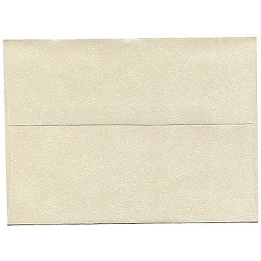 JAM PaperMD – Enveloppes Stardream A7 à effet métallisé, opale, 250/paquet