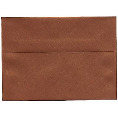 JAM PaperMD – Enveloppe Stardream A7 à effet métallisé, cuivre, 50/paquet
