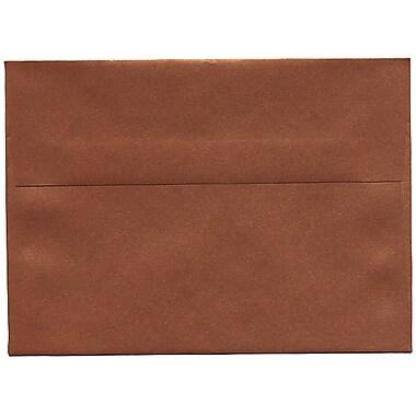 JAM Paper® A7 Invitation Envelopes, 5.25 x 7.25, Stardream Metallic Copper, 250/Pack (GCST701H)