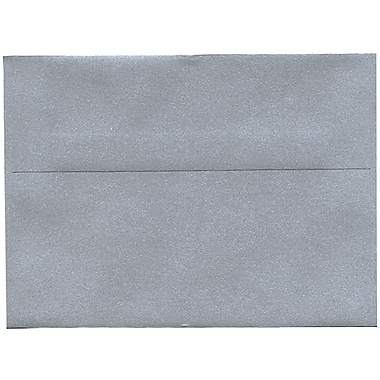 JAM Paper® A7 Invitation Envelopes, 5.25 x 7.25, Stardream Metallic Silver, 250/Pack (GCST709H)