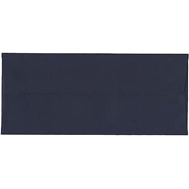 JAM Paper® #10 Business Envelopes, 4 1/8 x 9.5, Navy Blue, 500/Pack (LEBA367H)
