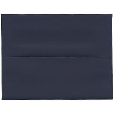 JAM Paper® A2 Invitation Envelopes, 4.38 x 5.75, Navy Blue, 250/Pack (LEBA617H)