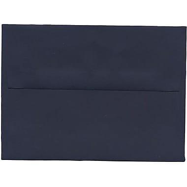 JAM Paper® A6 Invitation Envelopes, 4.75 x 6.5, Navy Blue, 250/Pack (LEBA667H)