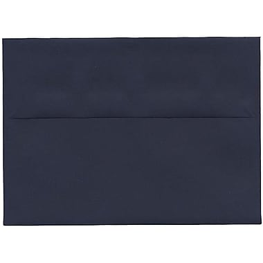 JAM Paper® A7 Invitation Envelopes, 5.25 x 7.25, Navy Blue, 250/Pack (LEBA717H)