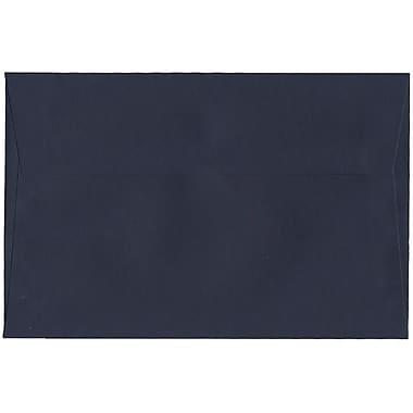 JAM Paper® A9 Invitation Envelopes, 5.75 x 8.75, Navy Blue, 250/Pack (LEBA792H)