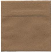 JAM Paper® 6 x 6 Square Envelopes, Brown Kraft Paper Bag Recycled, 50/Pack (LEKR502I)