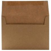JAM Paper A7 Recycled Envelope, Brown Kraft Paper Bag, 250/Pack