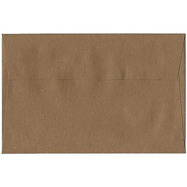 JAM Paper – Enveloppes A9 en papier recyclé, brun sac en papier Kraft, 250/paquet