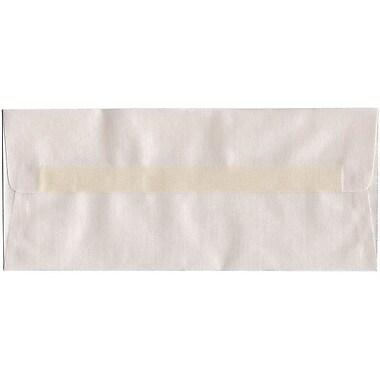 JAM Paper® #10 Business Envelopes, 4 1/8 x 9.5, Platinum Translucent Vellum, 500/Pack (PACV366H)