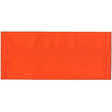 JAM Paper® #10 Business Envelopes, 4 1/8 x 9.5, Orange Translucent Vellum, 500/Pack (PACV369H)