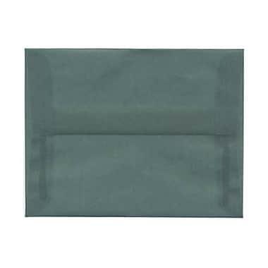JAM Paper – Enveloppes translucides A2, bleu océan, 250/paquet