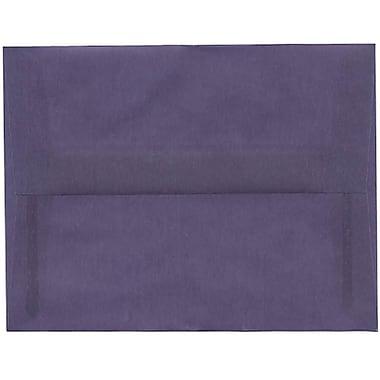 JAM Paper® A2 Invitation Envelopes, 4.38 x 5.75, Wisteria Purple Translucent Vellum, 250/Pack (PACV604H)