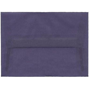 JAM Paper – Enveloppes translucides A6, violet glycine, 50/pqt