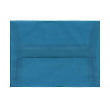 JAM Paper – Enveloppes translucides A6, jaune primaire, 250/paquet